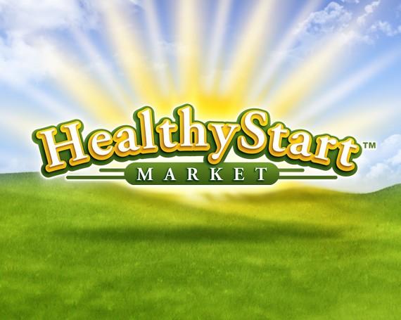 Healthy Start Market Branding