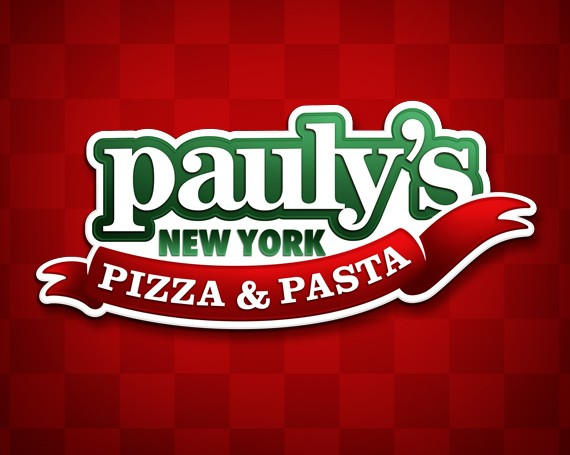 Pauly's New York Pizza & Pasta Branding
