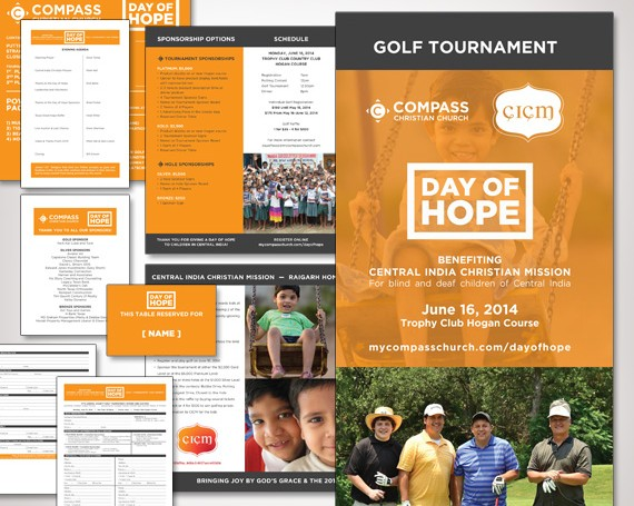 Compass Christian Church Day of Hope Collateral