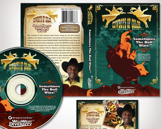 Cowboys of Color Rodeo DVD