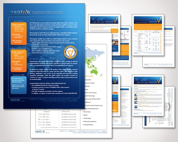 Neotive Sales Sheets