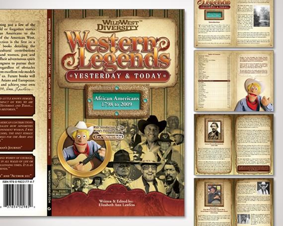 Western Legends Book