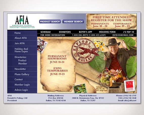American Floral Industry Association Web Promos