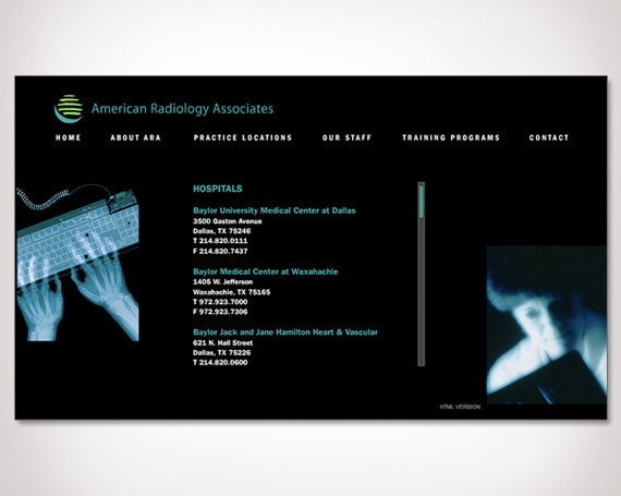 American Radiology Associates Website
