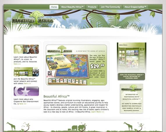 Beautiful Africa Website
