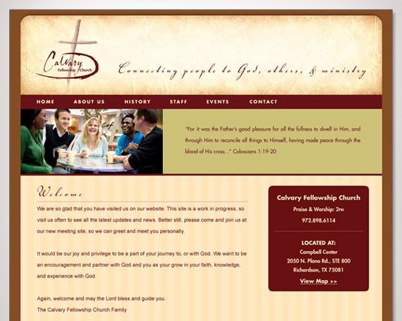 Calvary Fellowship Church Website