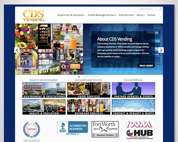 CDS Vending Website