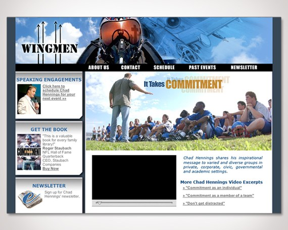 Chad Hennings' Wingmen Website
