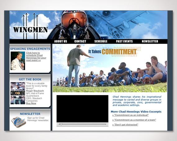 Chad Hennings' Wingmen Website