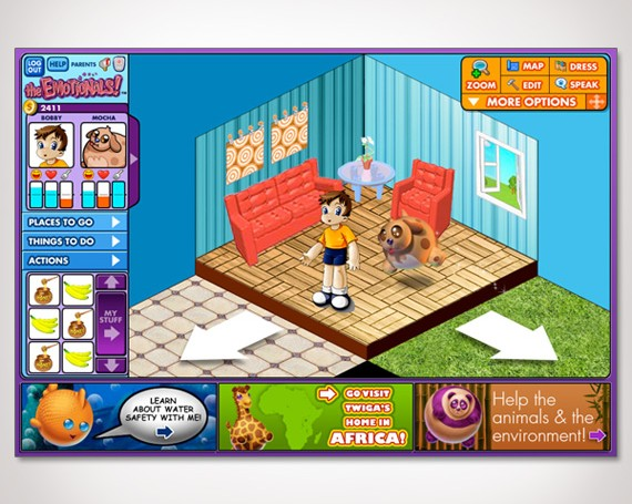 The Emotionals Online Game