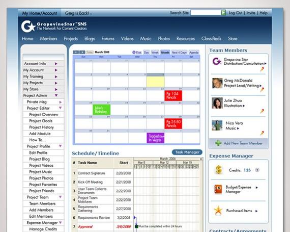 GrapevineStar B2B Professional Social Network
