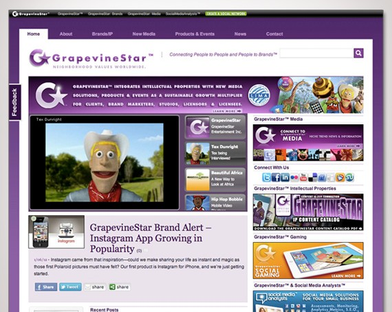 GrapevineStar Website