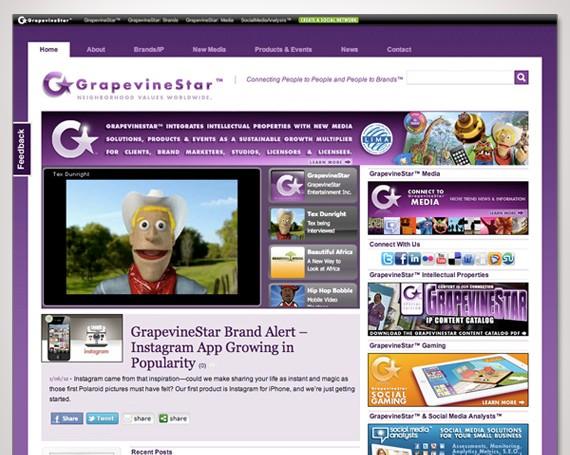 GrapevineStar Website