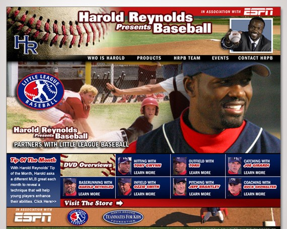 Harold Reynolds Website