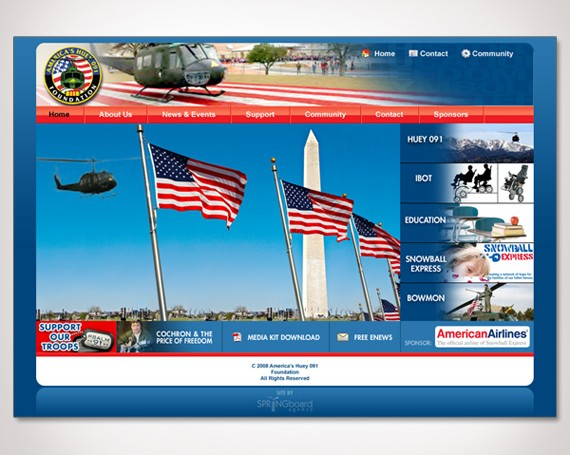 Huey 091 Foundation Website
