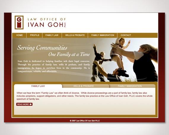 Law Offices of Ivan Goh Website