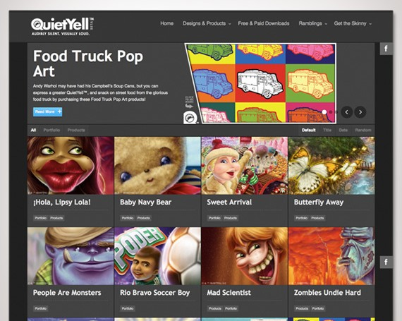 QuietYell 2013 Website