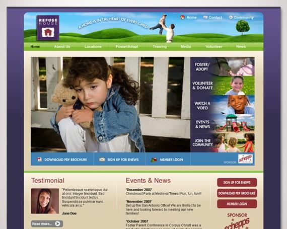 Refuge House Website