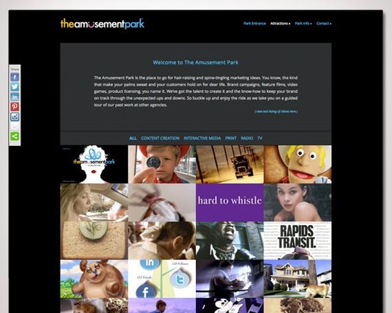 The Amusement Park Website