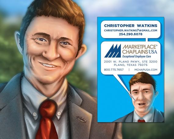 Chaplain Watkins Business Cards