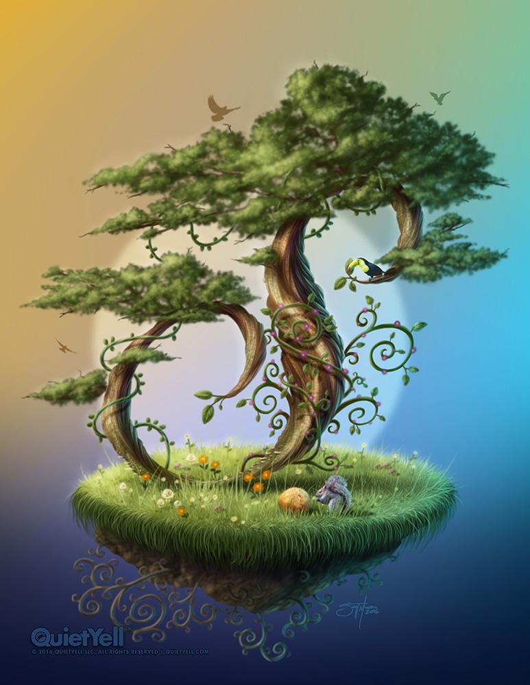 quietyell_scott-monaco_the-enchanted-s-tree_1000px