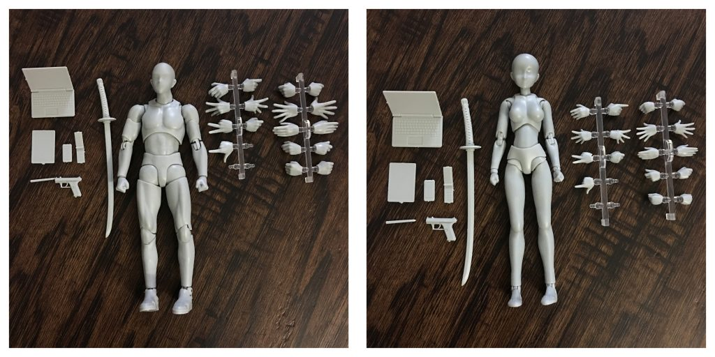 BodyKun-BodyChan_Figures-Objects