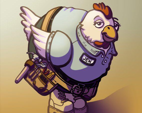Handy Hen