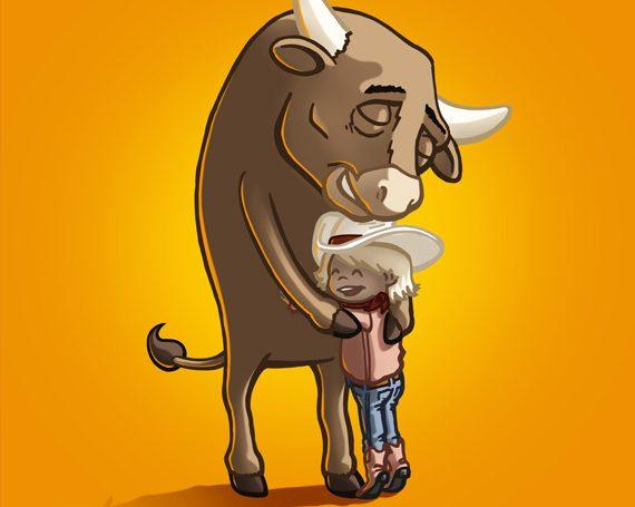 It's An Enjoy-A-Bull Day