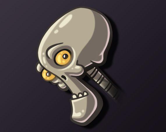 Heads: Skull