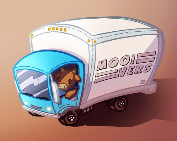 Mooving Truck