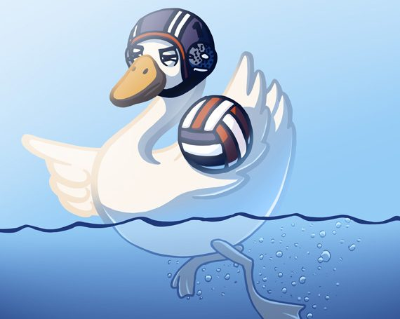 Expect A Fowl In Water Polo