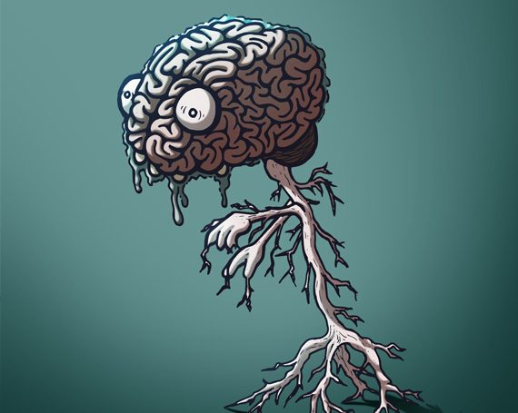 What Do Brain Zombies Eat?