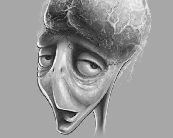 Alien Comedian