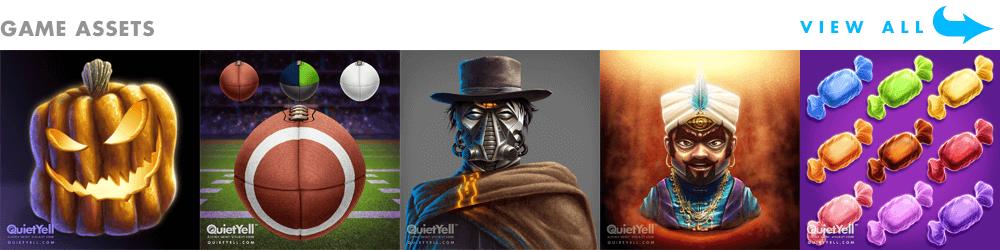 © QuietYell LLC & Scott Monaco   QuietYell.com   Game Assets