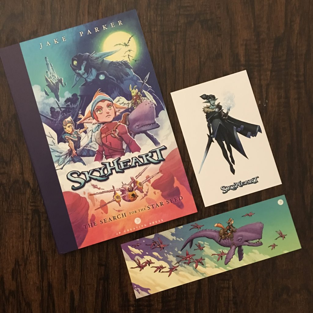 The SkyHeart Book/Comic/Graphic Novel by Jake Parker