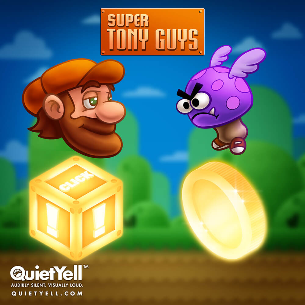 Super Tony Guys Game, Video Game, Gamification