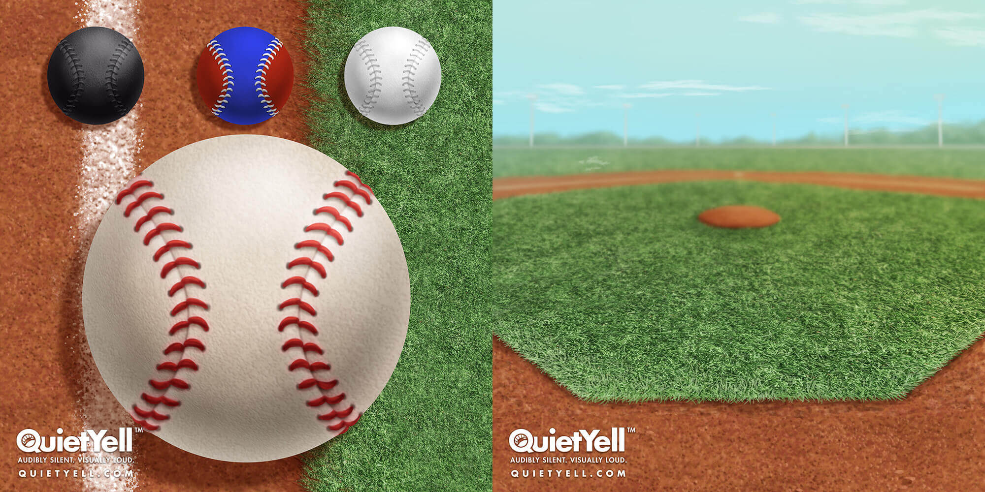 QuietYell Presents Scott Monaco's Sports (Baseball) Game Assets For Cataboom, All Rights Reserved | QuietYell.com and CataBoom.com
