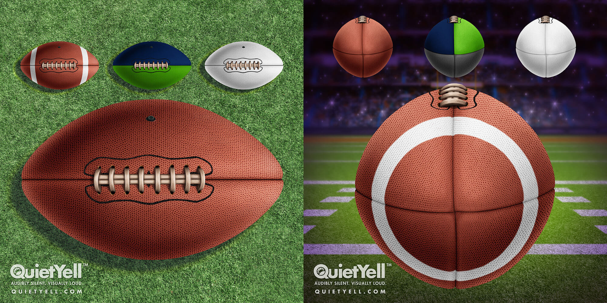 QuietYell Presents Scott Monaco's Sports (Football) Game Assets For Cataboom, All Rights Reserved | QuietYell.com and CataBoom.com