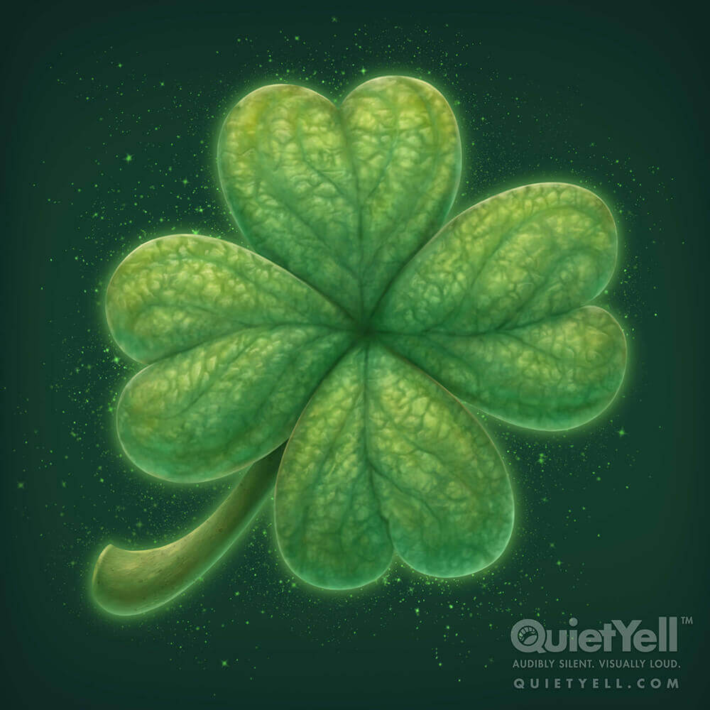 QuietYell Presents Scott Monaco's St. Patrick's Day (Clover) Game Assets For Cataboom, All Rights Reserved