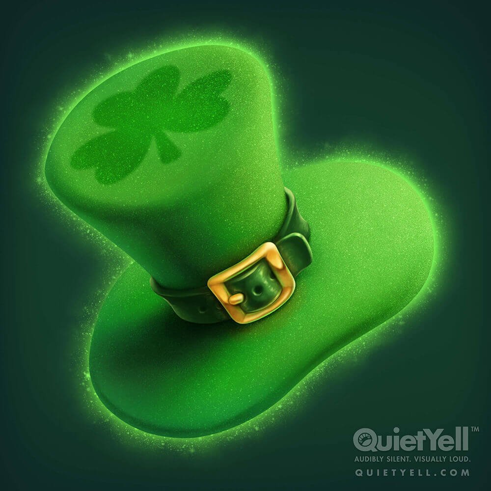 QuietYell Presents Scott Monaco's St. Patrick's Day (Hat) Game Assets For Cataboom, All Rights Reserved