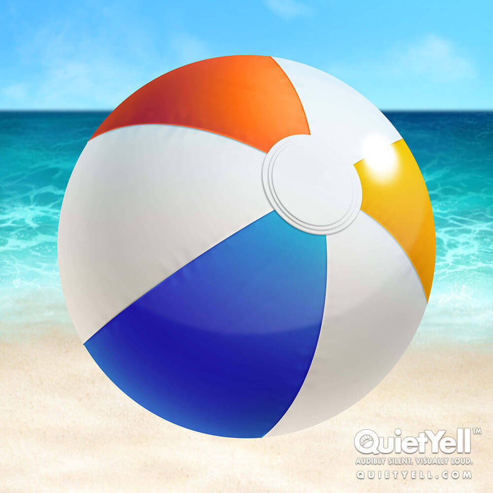 QuietYell Presents Scott Monaco's Tropical Summer (Beachball) Game Assets For Cataboom, All Rights Reserved | QuietYell.com and CataBoom.com