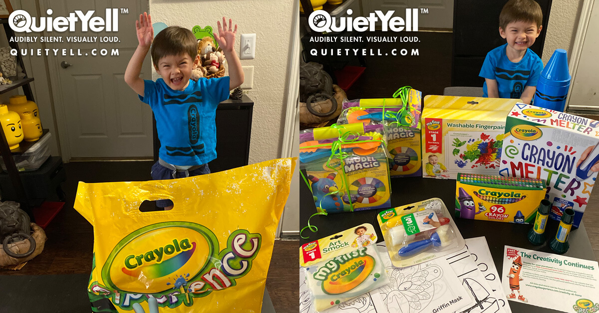 Crayola Experience Pre-Bundled Kits | www.QuietYell.com