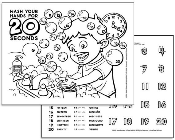 Activity Sheet Downloads – Counting Clean