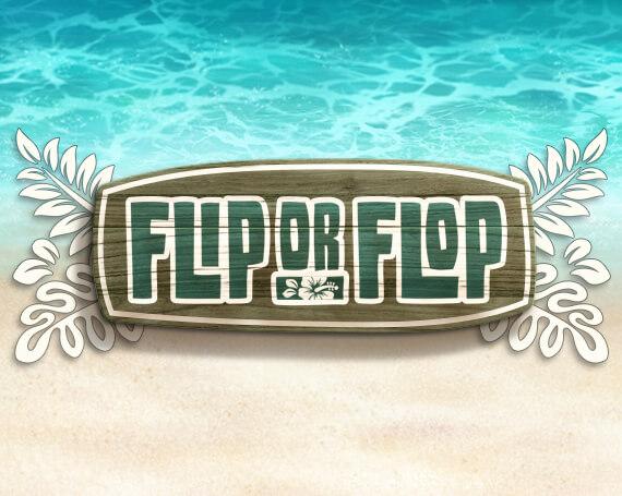 Flip or Flop Promotional Game Logo