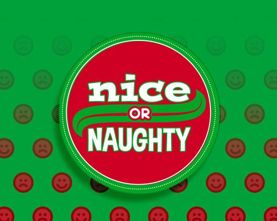 Nice or Naughty Promotional Game Logo