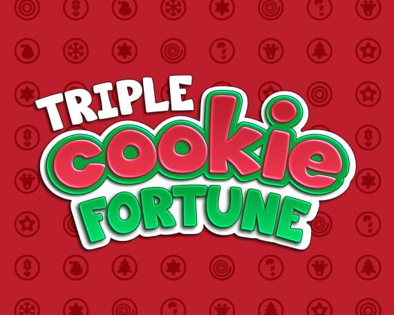 Triple Cookie Fortune Promotional Game Logo